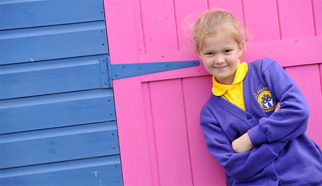 New logo for primary school in Kent after six-year-old wins design competition