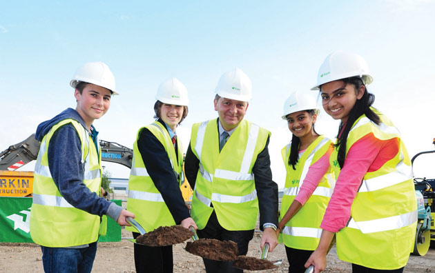 Derby UTC digs in for the future