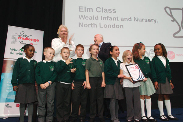 Enterprising winners at Fiver Challenge awards ceremony