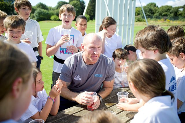 Campaign launched by rugby hero to tackle bullying in secondary schools