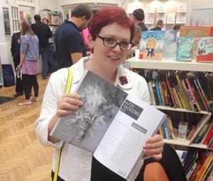 Jo Baker (@jobaker9) with a chapter called Enjoying Teaching Art