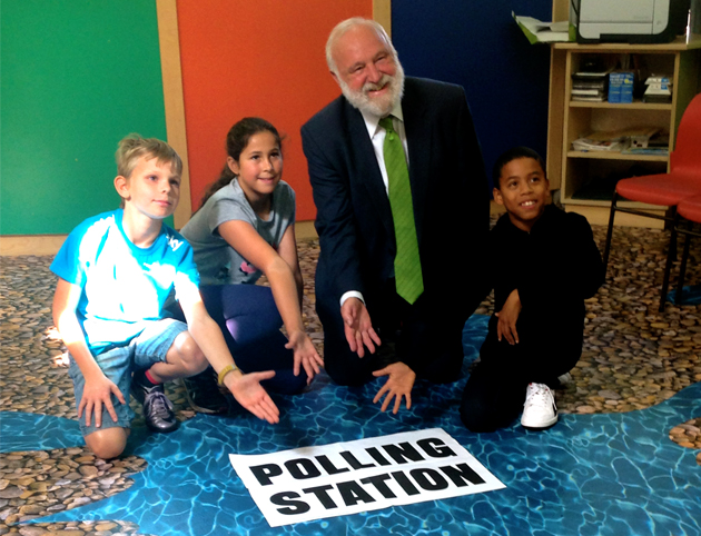 "MP hails school with ""amazing floors"" selected after students were polled"