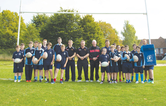 Students' try new rugby hub