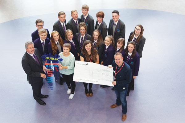 Academy raises £13k for cancer charity
