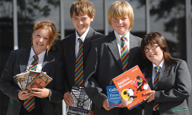 Pupils give academy thumbs-up