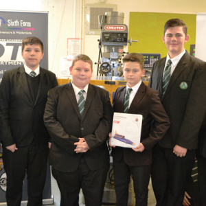 Contest win leaves Kent pupils in a spin