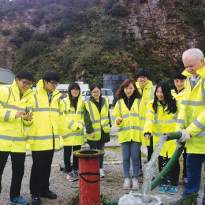 Cornwall's geothermal warders on show