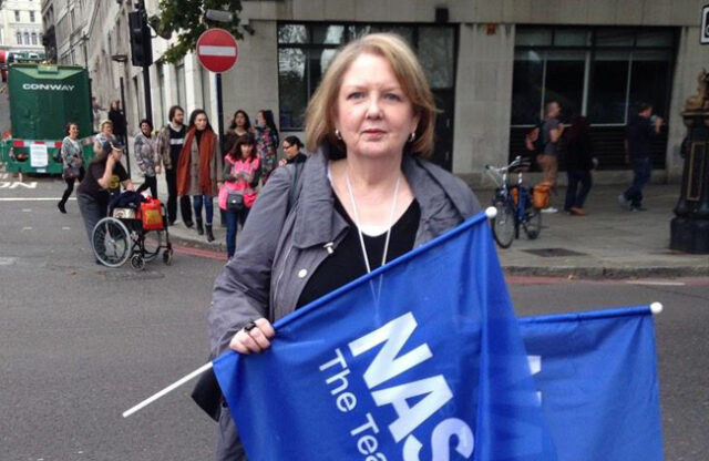 NASUWT general secretary Chris Keates