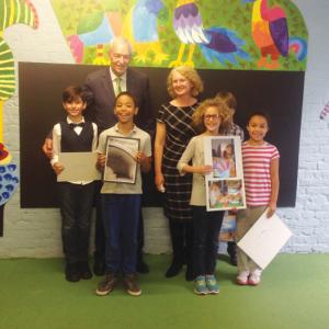 Pupils go wild with new playground