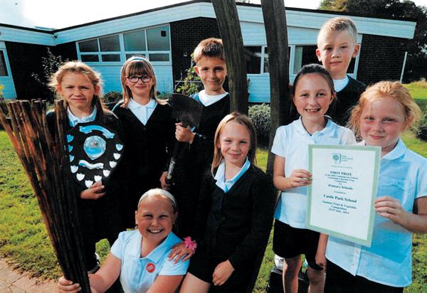 Keen gardeners take top prize