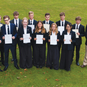 Oundle chemistry whizzes strike gold