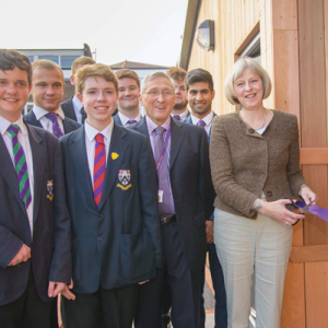 May opens new drama centre