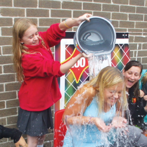 Icy deluge for primary staff