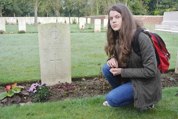 Ananda remembers fallen relative, 100 years on