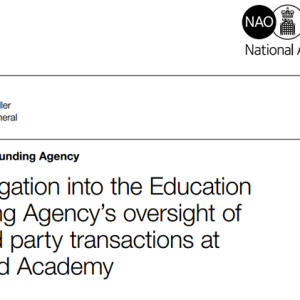Academy oversight failings exposed as Hodge's PAC prepares to hear evidence