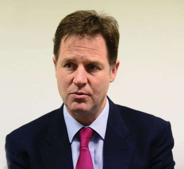 Selective schools are not what this country needs, says Clegg