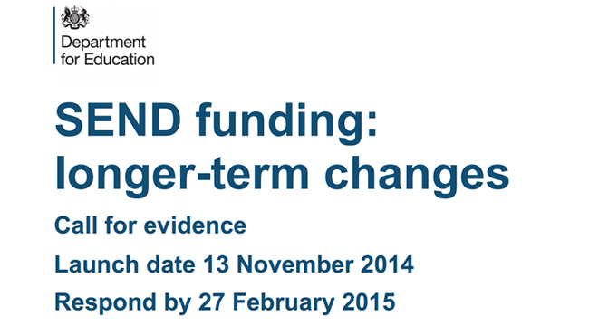 Government launch fairer funding consultation for Special Educational Needs and Disability