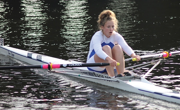 Rower benefits from trust scholarship