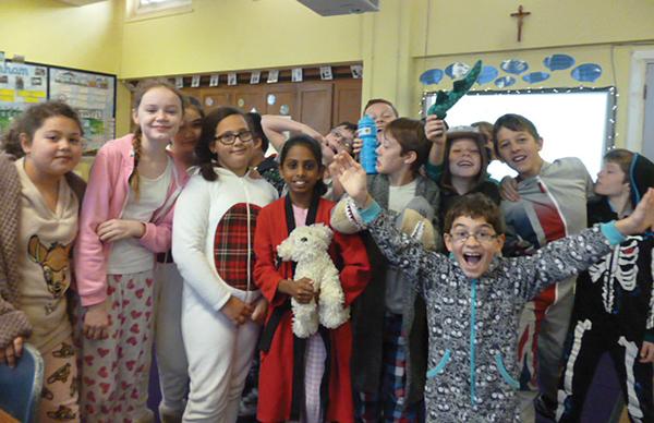 Pyjama day raises funds for Ebola fight