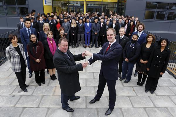 Academy opens ahead of schedule