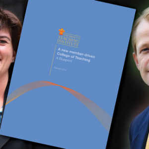 Ministers back college of teaching