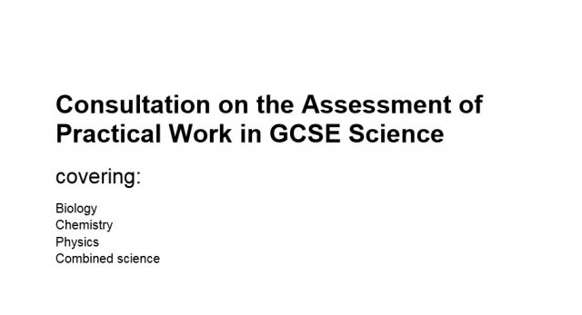 GCSE Science students should complete 'log-book' of sixteen experiments, says Ofqual