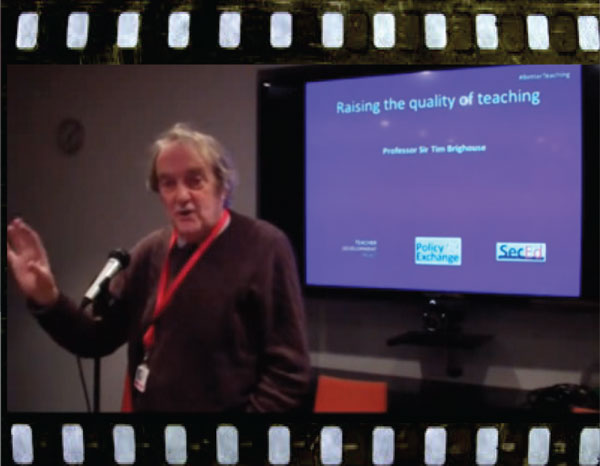 Speaking at Teacher Development Trust in February 2013