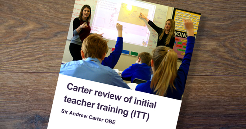 Carter Review: let independent body design teacher training - Nicky Morgan agrees