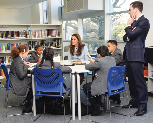 Royal visits inspire academies' students