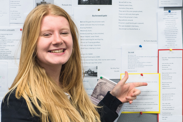 German painting inspires pupil's winning poem