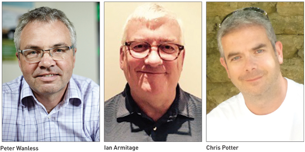 Edition 17: Peter Wanless, Ian Armitage and Chris Potter