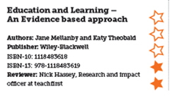 Education and Learning – An Evidence based approach