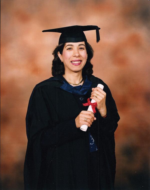 Graduation ceremony at Southbank University, autumn 2000
