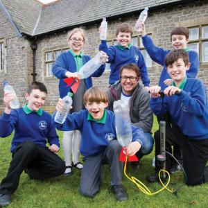 Wacky water workshops win over pupils