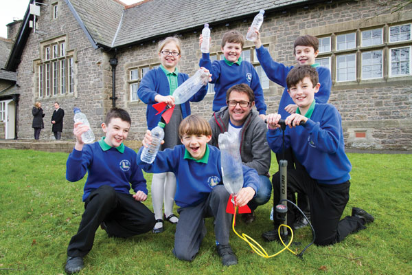 Wacky water workshops win over pupils