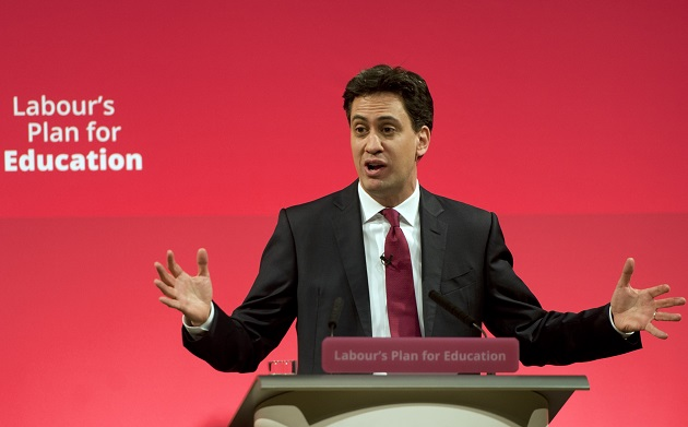 Ed Miliband pledges to protect 'overall' education budget, including 16 to 19 funding