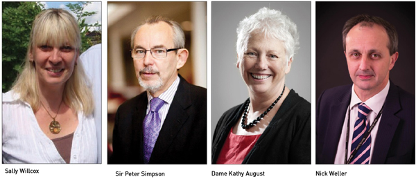 Edition 18: Sir Peter Simpson, Dame Kathy August, Nick Weller and  Sally Willcox