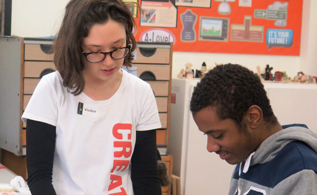 Art and music bring pupils together