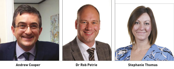 Edition 19: Andrew Cooper, Dr Rob Petrie and Stephanie Thomas