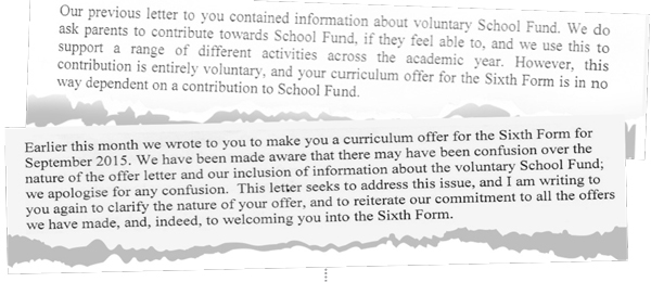 EXCLUSIVE: Grey Coat school apologises for donation 'confusion'
