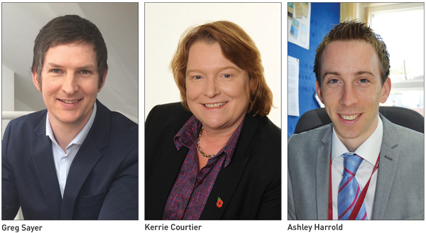 Edition 22: Greg Sayer, Kerrie Courtier and Ashley Harrold