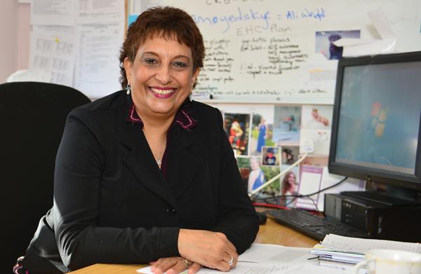 Oremi Evans, headteacher, the Brookfield School