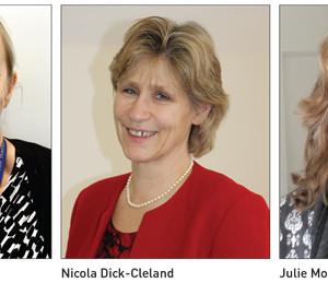 Edition 23: Karen Jones, Nicola Dick-Cleland and Julie Molesworth