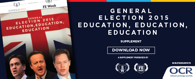 General Election 2015: Education, Education, Education