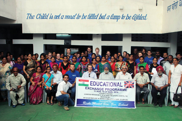 The LRTT conference in India that Lizzie Waddling took part in last summer