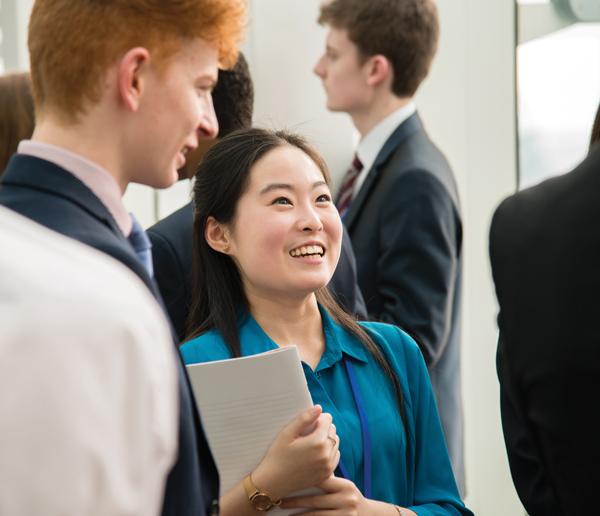 Student's leadership skills net £1,500 winnings