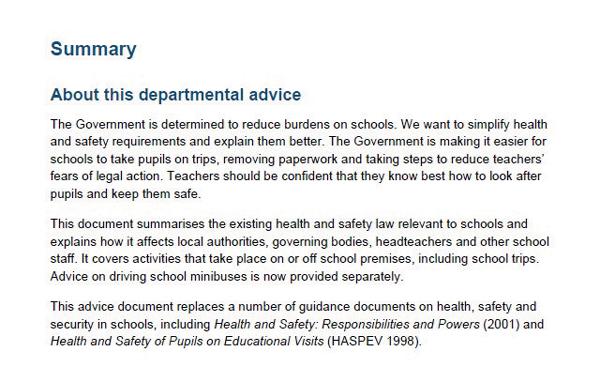 HealthandsafetyDfEGuidance2