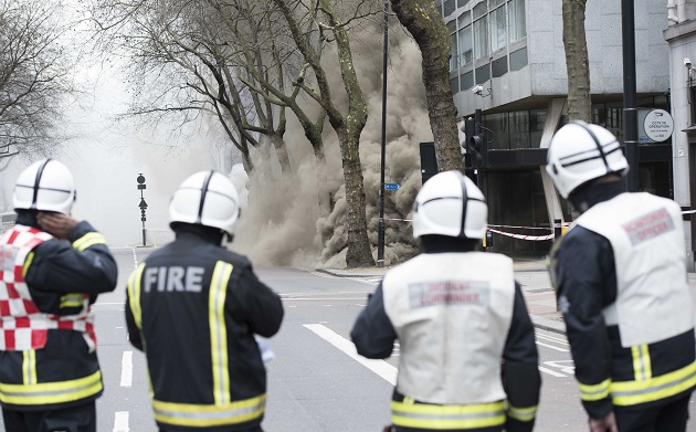 HQ of three education organisations including Ark Schools remain closed due to central London fire