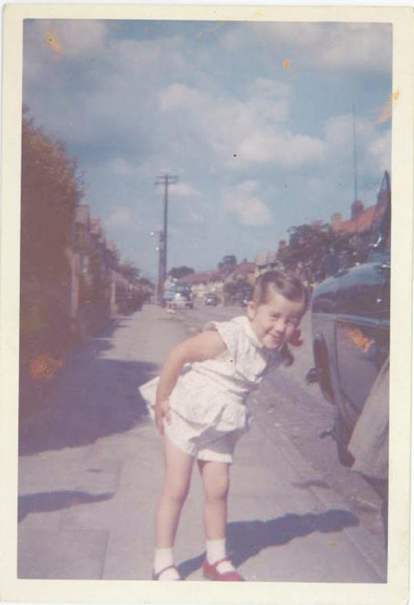 Lynda aged 3