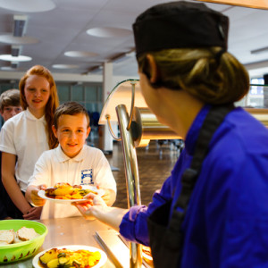 Push for school meal uptake